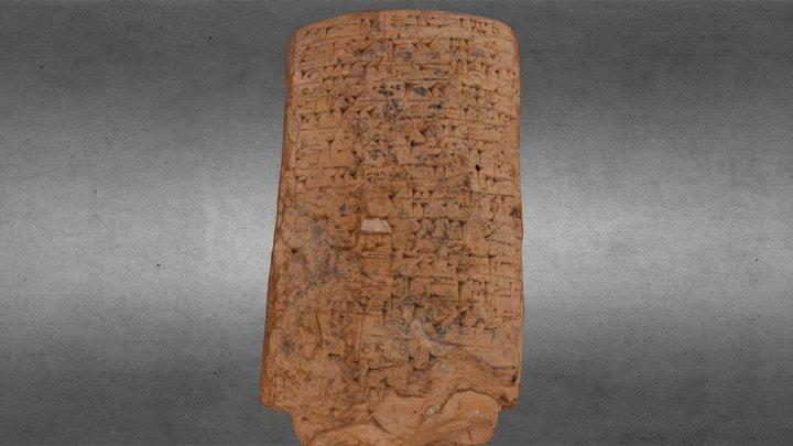 Cuneiform Tablet from Umma, Iraq 3D Model