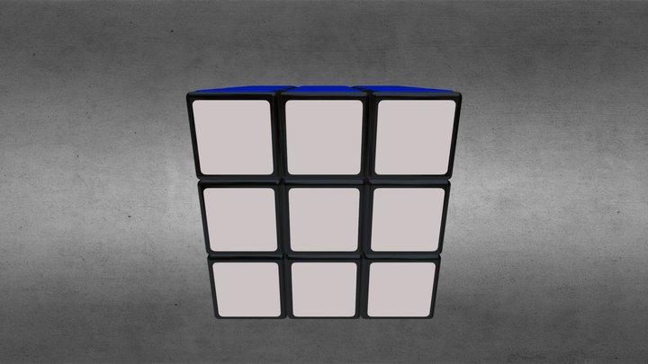 Rubik's Cube 3D Model