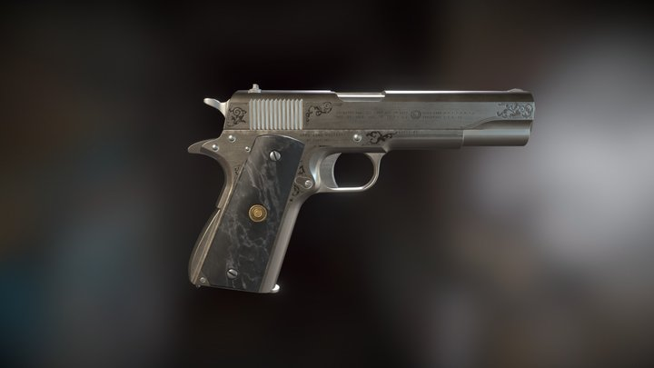 Ares Arms 1911a1 3D Model