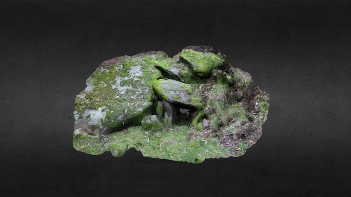 Casoupiña 1 da Cidade do Alén 3D Model
