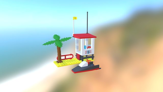 Lego 6334-1: Wave Jump Racers 3D Model
