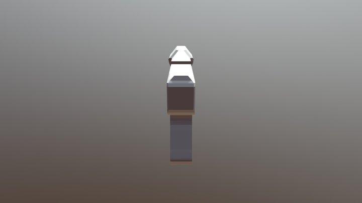 Magnum Pistol Halo 3D Model