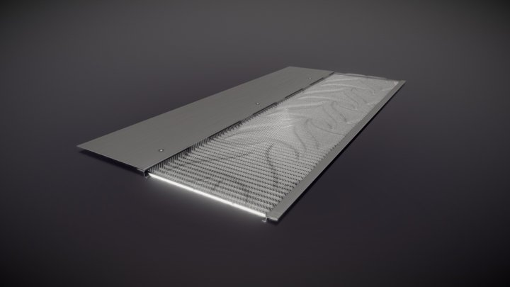 LeafBlocker Gutter Guard - 3D Model 3D Model