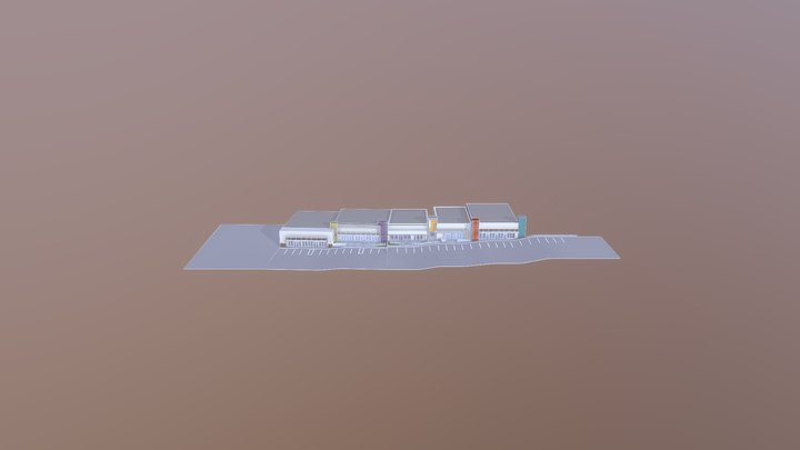 La Habra Model Progress 3D Model