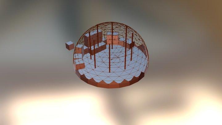 Domekeko 3D Model