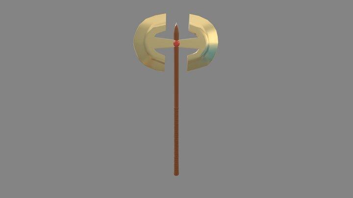 machado 3D Model