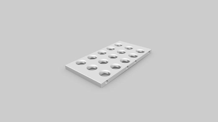 Shelf plate (m-board3) 3D Model