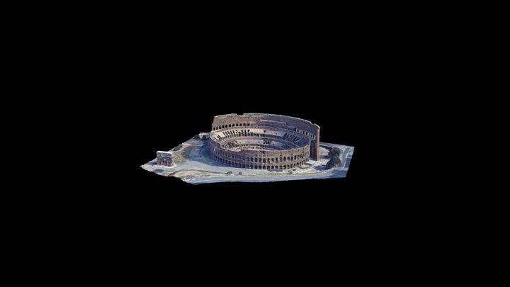 Il Colosseo 3D Model