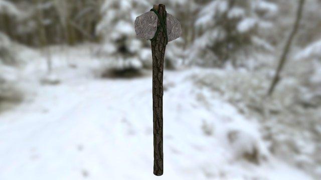 Frost: Stone Axe 3D Model