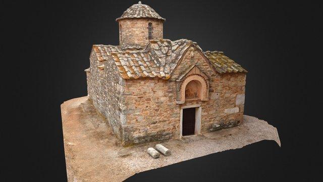 Byzantine Church - Agios Petros -  c. 12th-13th 3D Model