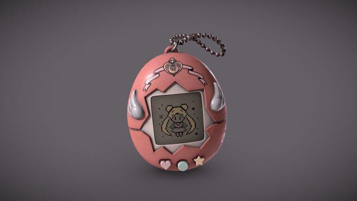 Tamagotchi (Pet Sailor Moon) 3D Model