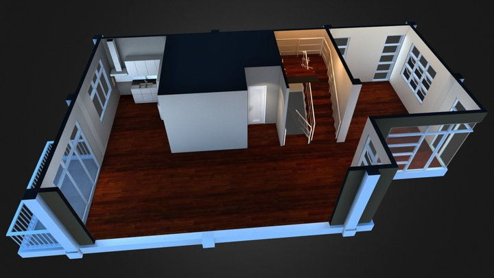 Sample Interior 3D Model