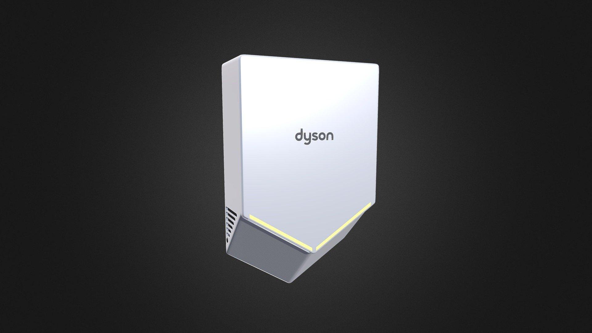 Dyson airblade 3d model дайсон dc34 купить