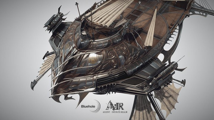 Ascent: Infinite Realm: Airship (Official) 3D Model