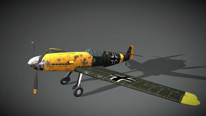 BF 109 - Messerschmitt 3D Model