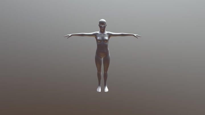 OBJ TEst 3D Model