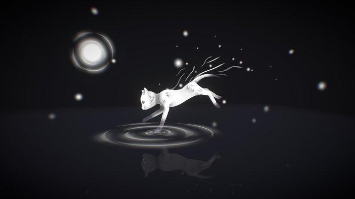 Phantom Cat 3D Model