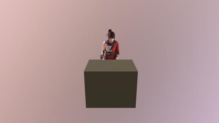 Climb (Kachujin) 3D Model