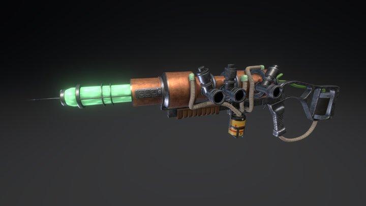 Fallout 3 Plasma Rifle 3D Model