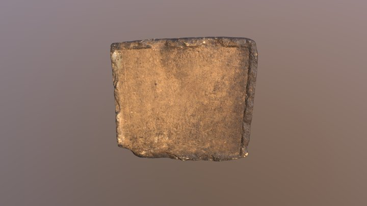 Dedication slab, Netherby 3D Model