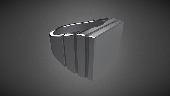 Modern Men's Ring
