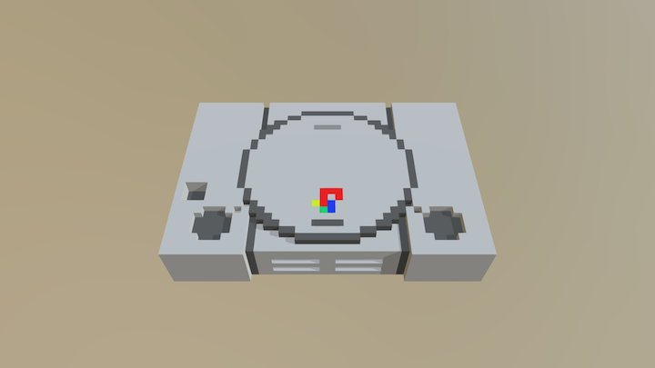 video game console 3D Model