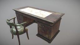 St. James Desk 3D Model
