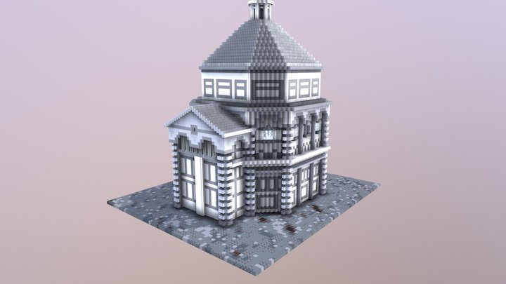 Florence Baptistery 3D Model