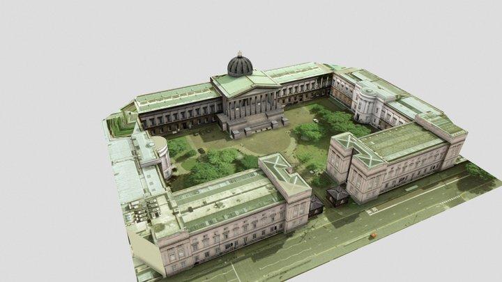 University College London (UCL) Quad 3D Model