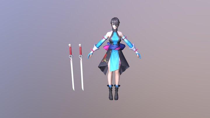 Shiki 色 3D Model