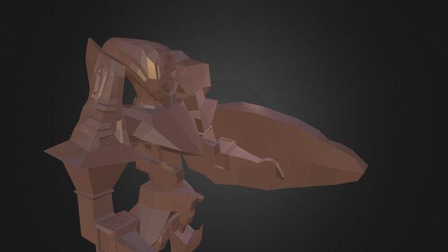 Mecha CG2 3D Model