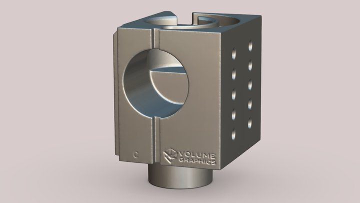 VG Cube 3D Model
