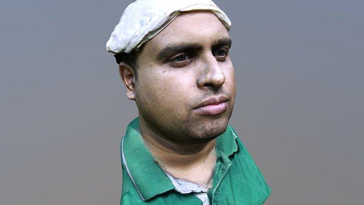 Harsha Face Scan 3D Model