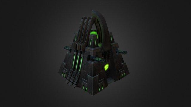 WH Necron Monolith 3D Model