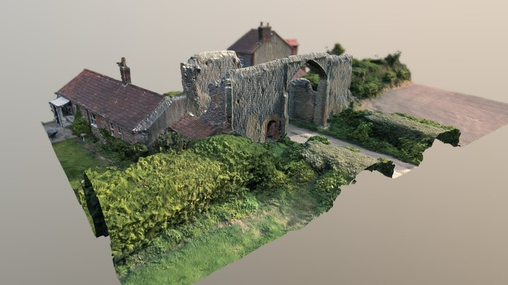 Bromholm North Gatehouse 3D Model