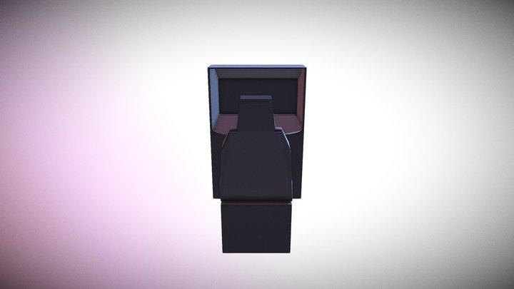 Arcade Cabinet Body 3D Model