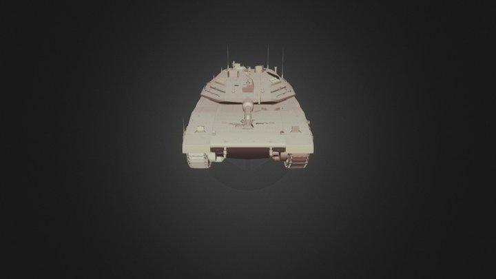 MKV Tank 3D Model
