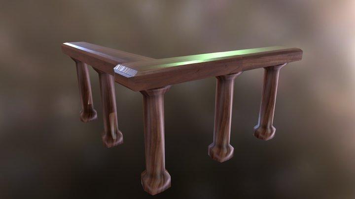 Banister 3D Model