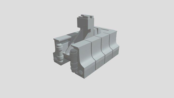 Star Wars personnel carrier 3D Model