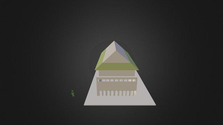 Temple Japonais 3D Model