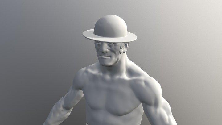 Character Boxing 3D Model
