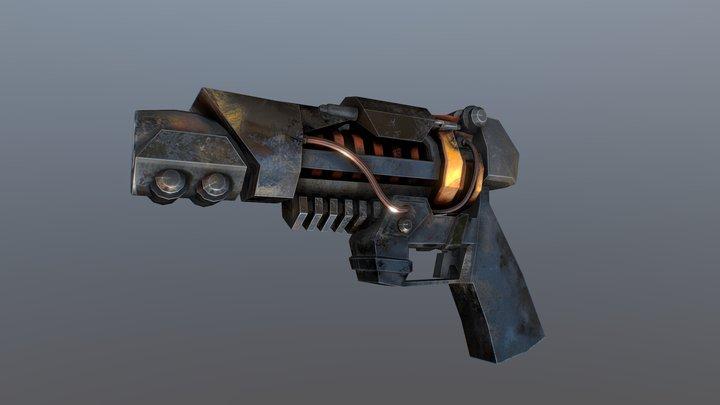 Scifi Gun 3D Model