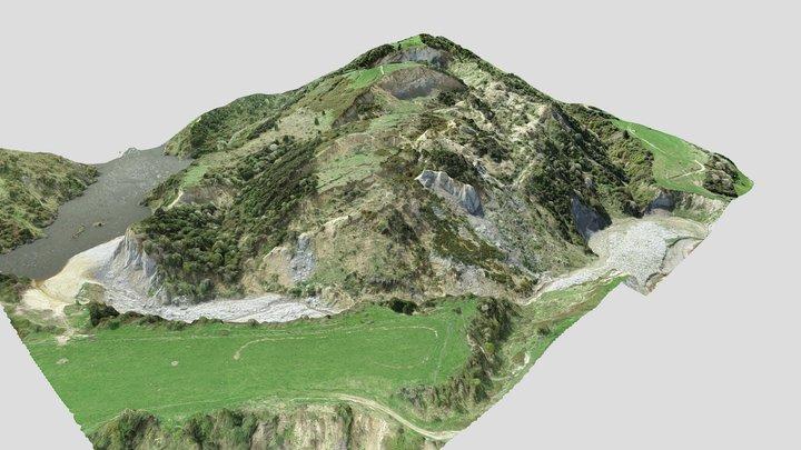 Hopefields Landslide 3D Model