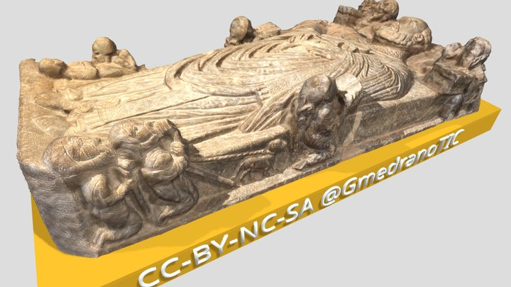 Cenotafio San Millán de la Cogolla 3D Model