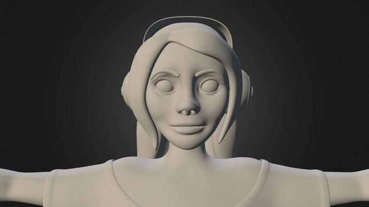 Teenage Girl Model 3D Model