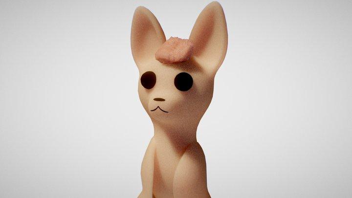 Bat 3D Model