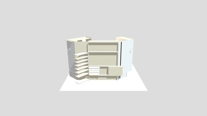 Adel Dressroom 3D Model