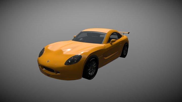 Ginetta G40 (GT5) 3D Model