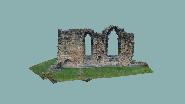 Monk Bretton Priory 3D Model