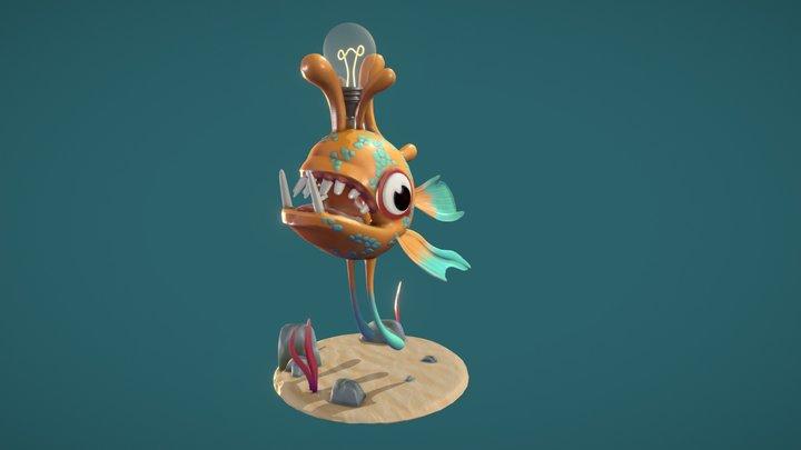 Anglerfish - Flotsam 3D Model